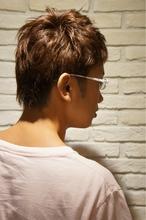 爽やかツーブロックスタイル|Hair Design entier のメンズヘアスタイル