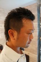 ワイルド系ベリーショート|Hair Design entier のメンズヘアスタイル
