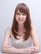 シルキーカールロング MiCOL 錦糸町のヘアスタイル