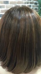 ツヤのあるモテ髪|SOLEIL  新宿御苑前店のヘアスタイル