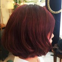 秋色モテ髪カラー|SOLEIL  新宿御苑前店のヘアスタイル