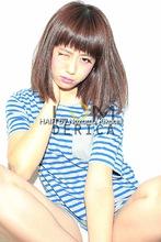 横浜美容室ラムデリカ、乾かしただけでキマるミデイアムヘア|LUMDERICAのヘアスタイル
