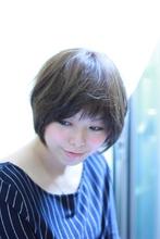 大人のシンプルショートボブ★ sofaのヘアスタイル