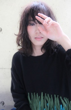 『伸ばしかけでもカワイイ』透明感&無造作ミディ|HAIR&MAKE SeeK 吉祥寺のヘアスタイル