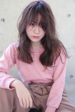 『グレージュ×透明感』ゆるウェーブ HAIR&MAKE SeeK 吉祥寺のヘアスタイル