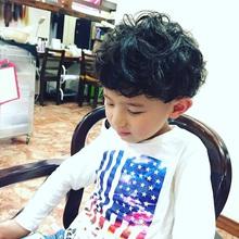 外国の子供風パーマ ♪|yasoのキッズヘアスタイル