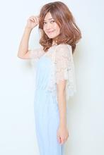 ゆるセミディ|Dilla 西川口店のヘアスタイル