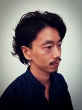 ミディアムカール|TIARE hair resortのメンズヘアスタイル