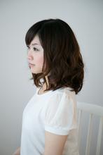 ミディアムパーマ|TIARE hair resortのヘアスタイル