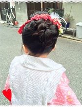 3歳の七五三|Hair Yielding BIKIのキッズヘアスタイル