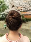 入学式!ママの着物&髪型
