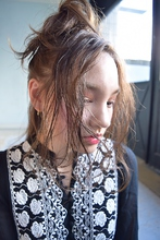 簡単アレンジお団子|BAROQUEのヘアスタイル