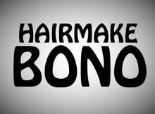 HAIR MAKE BONO美容室    ヘアーメイクボノビヨウシツ  のロゴ