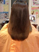 シルキーストレート|Linxのヘアスタイル