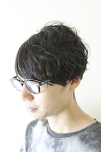 大人を感じる黒髪ボブ Alo hair designのメンズヘアスタイル