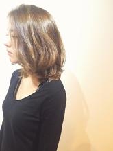 ◆アッシュベージュミディ◆|MIZUMAのヘアスタイル