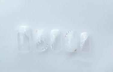 ブライダルネイル(ダイアモンド付)