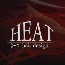HEAT hair design  | ヒートヘアデザイン  のロゴ