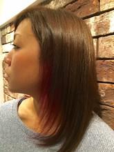 インナーカラー|+muutosのヘアスタイル