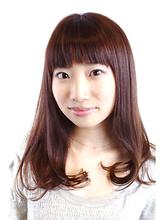 大人シンプルミディ|ZU-LU 生田店のヘアスタイル