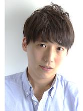 ナチュラル2ブロックマッシュ|ZU-LU 稲田堤店のメンズヘアスタイル