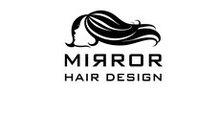 MIRROR HAIR DESIGN    ミラーヘアデザイン  のロゴ