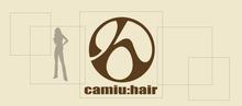 camiu hair  | カミューヘア  のロゴ