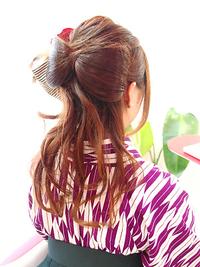 髪の毛リボン