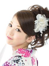 和服におすすめアップヘア|hair salon JOJOのヘアスタイル