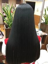 ロングストレートヘア|la Loop Hair Designのヘアスタイル
