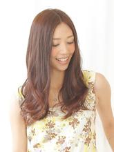 大人かわいいフェミニンロング|felicita 北堀江のヘアスタイル