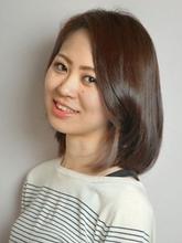 内巻きボブ|hair make equrooleのヘアスタイル