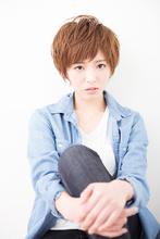 おしゃれショート|hair make Soelのヘアスタイル