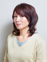 大人巻き髪スタイル|itのヘアスタイル