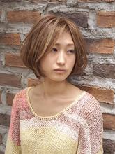 外国人のような柔らかい色味のハイライトカラースタイル☆|RIP CURLのヘアスタイル