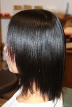 縮毛矯正|hair&Smile fresa.15のヘアスタイル