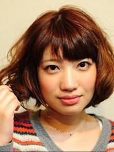 お手入れ簡単ボブ|Relation hair designのヘアスタイル