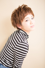 ボーイッシュショート|naiaのヘアスタイル