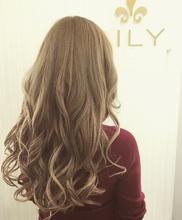【LILY】 ことりベージュ|LILY SHINSAIBASHIのヘアスタイル