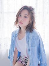 ミディアムベージュ ojiko.のヘアスタイル