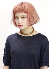 ハイトーンベビーバングボブ|CiNEMA daikanyamaのヘアスタイル