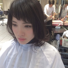 前髪シースルーバング|FILM.sのヘアスタイル