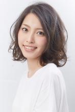 ニュアンスカールボブ|HanaWa ebisu tokyo hair salonのヘアスタイル
