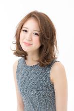 ゆるふわsweetミディアム|HanaWa ebisu tokyo hair salonのヘアスタイル