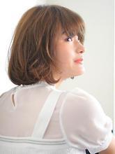 ラフな抜け感可愛い☆小顔ミディボブ|Kith.hair&makeのヘアスタイル