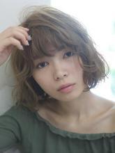 外国人風抜け感シフォンロブ!|Kith.hair&makeのヘアスタイル