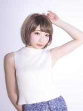 やわらかショート Calm Hair 阪急淡路店のヘアスタイル