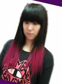 Wカラーでcool rock☆