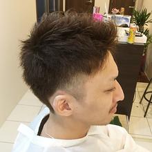 メンズショート|Hair salon Wehilaniのメンズヘアスタイル