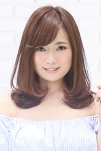 ミディアムAラインカール|BLUE HAND'Sのヘアスタイル